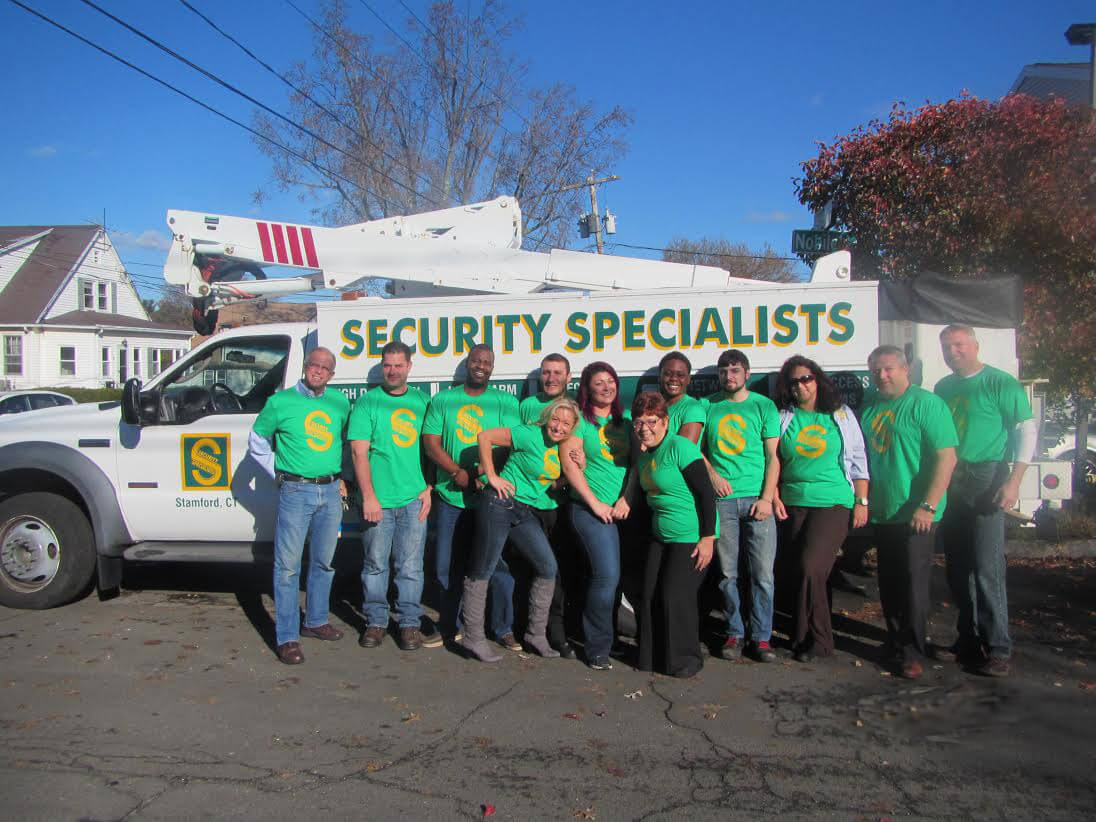 Security Specialists, Person-to-Person, Holiday Giving